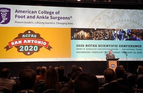 podiatrist dr alan macgill speaker at 2020 ACFAS Scientific Conference