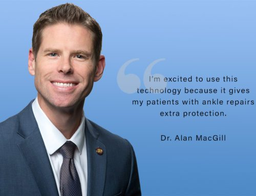 Dr. Alan MacGill Named Master Center Surgeon for Innovative Technology on Chronic Ankle Sprains